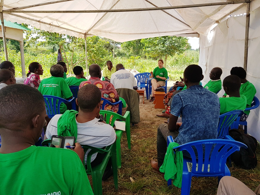Friends of the Earth Norway visits Friends of the Earth Uganda in a knowledge sharing experience targeting extractives