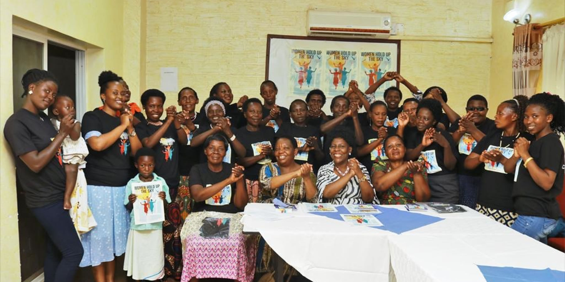 Launch of Women Hold up the Sky in Hoima
