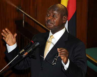 MPs were bribed to fail Oil Bill says President Museveni
